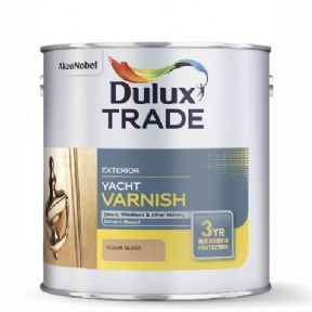 Dulux Trade Quick Dry Varnish Satin Tinted Colours